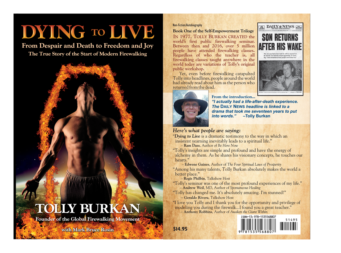 Firewalking book, Dying to Live